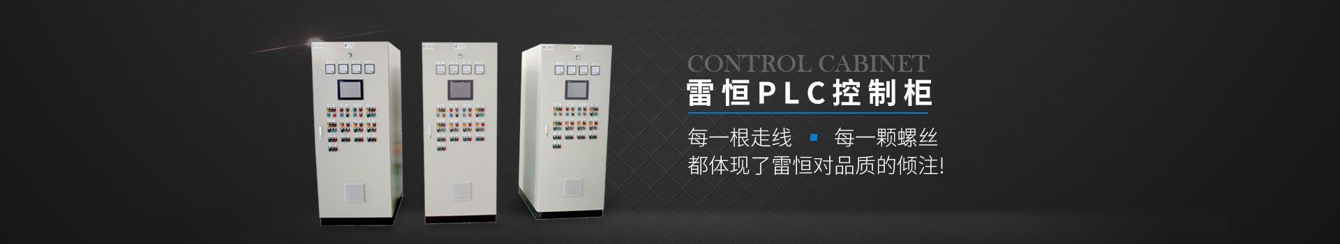 雷恒PLC控制柜 每一根走线 每一颗螺丝都体现了雷恒对品质的倾注